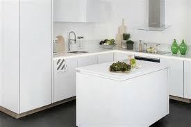 credence de cuisine en verre une credence de cuisine 1 carrelage et verre kopper glass174