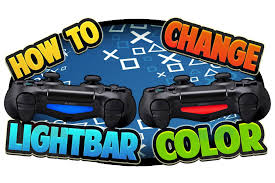 how to change the color of ps4 controller light how to change ps4 controller light bar color youtube