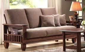Solid Wooden Sofa Insarafcom Saraf Furniture Furniture - Wooden sofa design