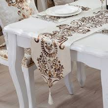 luxury damask table runner buy damask table runners and get free shipping on aliexpress com