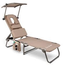 the removable shade ergonomic beach lounger hammacher schlemmer