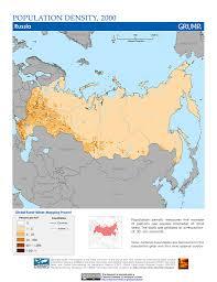 russia map by population maps population density grid v1 sedac