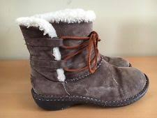 ugg s caspia ankle boots gravy uggs caspia 8 ebay