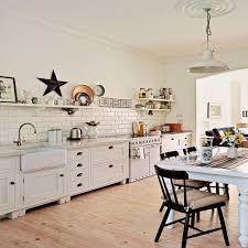 look around this open plan country style family kitchen ideal home