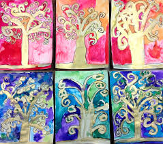 2nd grade tree of life the heart of life