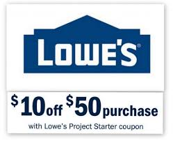 lowes coupon 10 50 purchase