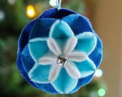 origami wreath ornament pdf pattern