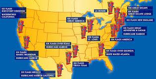6 Flags Map Newsplusnotes Heard On Six Flags U0027 2nd Quarter Earnings
