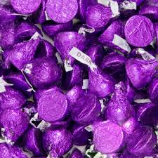 purple hersheys kisses dark chocolate bulk 10 pounds 41 5014013