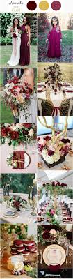 wedding colors the stunning colors of white burgundy wedding 30 elegant fall burgundy and gold wedding ideas deer pearl flowers