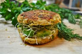 chickpea veggie burgers u0026 tzatziki yogurt sauce marin mama cooks