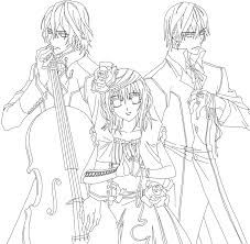 14 images of anime vampire knight zero coloring pages vampire