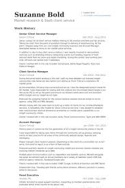 Account Manager Resume Sample by Client Service Manager Resume Samples Visualcv Resume Samples