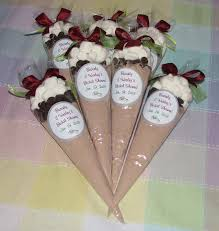 Bridal Shower Table Decorations by Bridal Shower Favors Ideas Personalized Bridal Shower Cocoa
