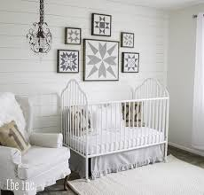 White Nursery Decor Gender Neutral Nursery Decor Ideas Homestylediary