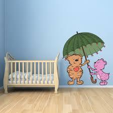 stickers pour chambre bébé fille stickers muraux pour chambre de bébé fille et garçon
