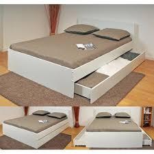 canapé avec lit tiroir oslo lit adulte contemporain blanc l 144 x l 193 cm achat