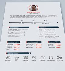 Resume Samples For Designers by 30 Free U0026 Beautiful Resume Templates To Download Hongkiat