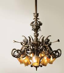 Baroque Chandelier Baroque Chandelier Nine Light Chandelier With Intri Flickr