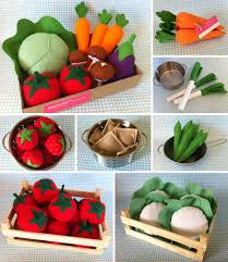 Sewing Patterns For Home Decor Diy Felt Vegetable Garden By Lia Griffith Project Home Decor