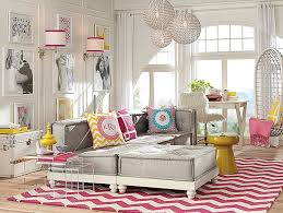Pottery Barn Teen Rugs Beautiful Teen Girls Lounge Room Decorating By Pottery Barn With
