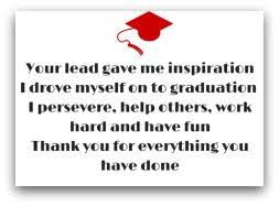 graduation thank you poetry