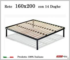 rete con materasso rete per materasso a 14 doghe in faggio vienna 160x200 cm 100