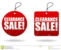 clearance sale tags royalty free stock images image 17644959