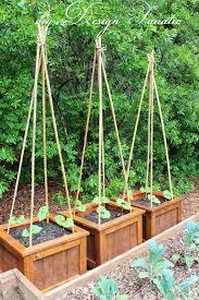 Vegetable Garden Planter Box Plans Garden Boxes Diy Home Outdoor Decoration