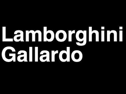 how to pronounce lamborghini gallardo 2013 bicolore superleggera