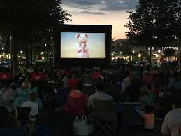 Backyard Movie Night Projector 7 Free Outdoor Movie Series To Enjoy With The Family