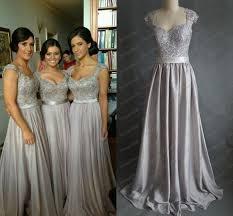 silver bridesmaid dresses https www explore silver grey brid