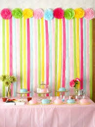 A New Twist on Crepe Paper Streamers