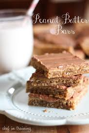Oatmeal Bars With Chocolate Topping Peanut Butter Bars Recipe Butter Bar Peanut Butter And Butter