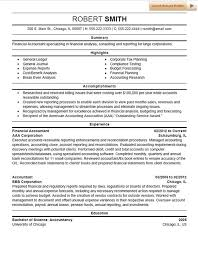 Best Accountant Resume by Accountant Resume Examples Commercetools Us