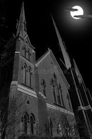church steeples for sale church steeples during moon on a stock image