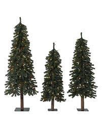 alpine christmas trees prelit christmas tree
