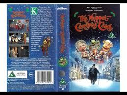 closing of the muppet carol uk vhs 1993