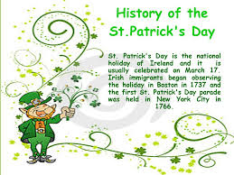 history of the st patrick u0027s day ppt download