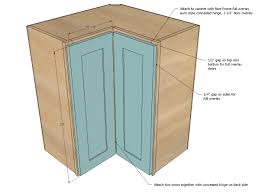 standard kitchen cabinet measurements corner wall cabinet dimensions with ana white kitchen diy projects
