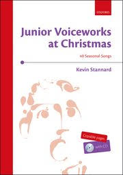 christmas cd junior voiceworks at christmas cd kevin stannard oxford