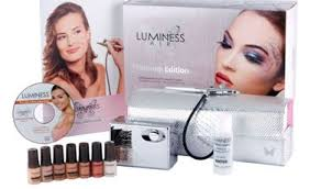 airbrush makeup for black skin luminess air platinum multi speed airbrush makeup system fair