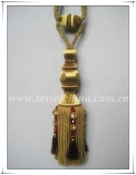 Gold Curtain Tassels 2014 New Gold Bullion Curtain Tiebacks With Tassels Tie Back