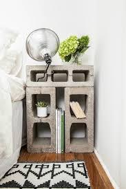 Interior Diy House Decor Cinder Blocks Cute Apartment Ideas