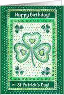 birthday on st patrick u0027s day cards from greeting card universe