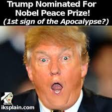 Peace Sign Meme - trump nominated for nobel peace prize i m not joking iksplain com
