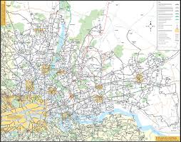 London Maps North East London Bus Map U2022 Mapsof Net