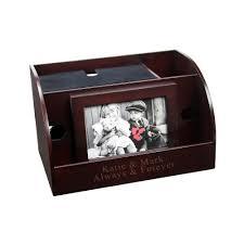 smart phone u0026 picture frame desk organizer charging station