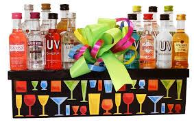 liquor gift sets build a basket 21st birtnday celebration set