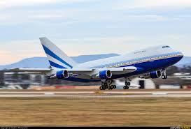 Karlsruhe Baden Vp Blk Las Vegas Sands Boeing 747sp At Karlsruhe Baden Baden